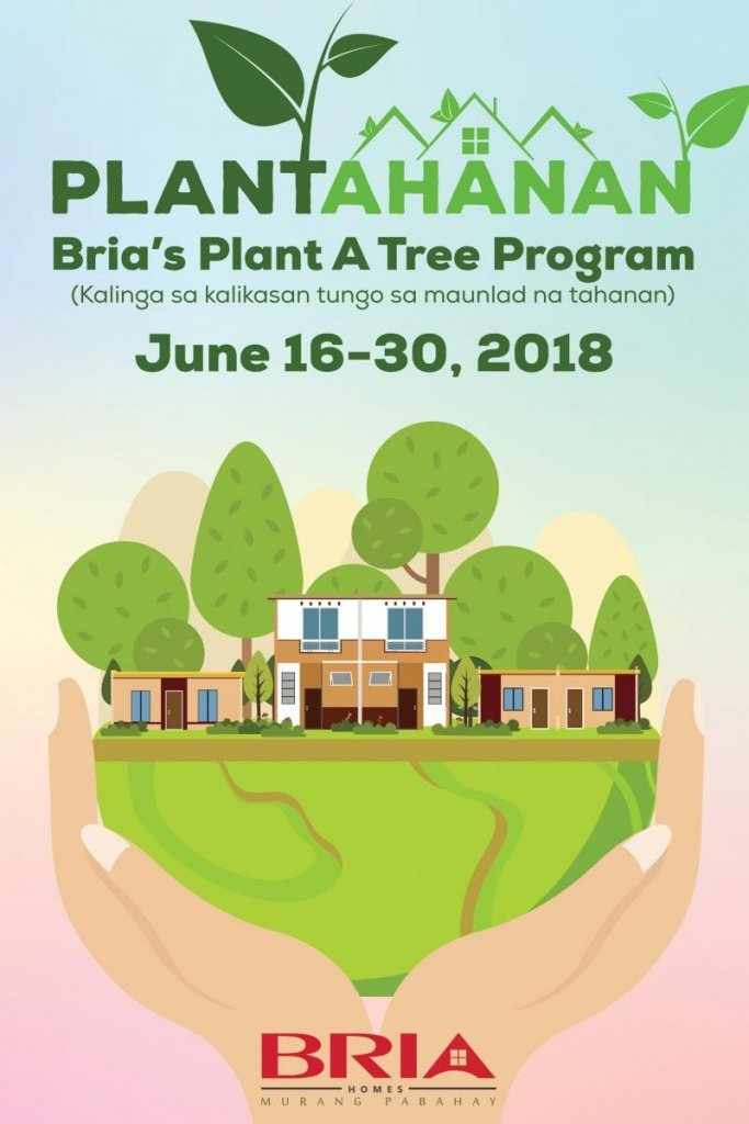 PLANTAHANAN Bria's Plant A Tree Program Poster Graphic