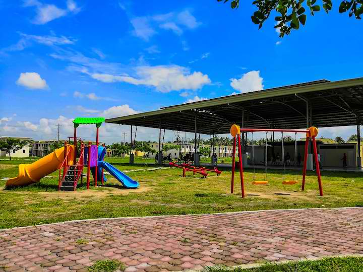 Play area in Bria Homes