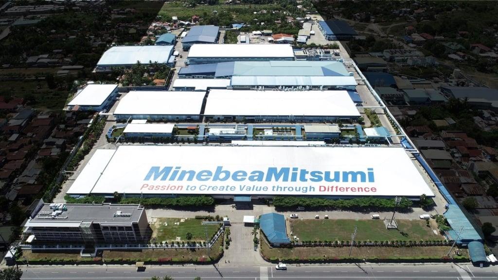 Aerial view of Cebu Mitsumi Inc.
