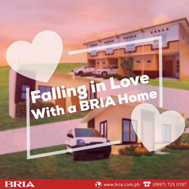 An image with the tagline Falling in Love with a BRIA Home