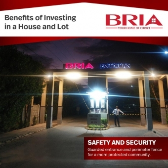 Benefits of Investing in a House and Lot Safety and Security
