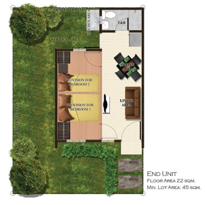 Townhouse Floor Plan Philippines Floors Doors